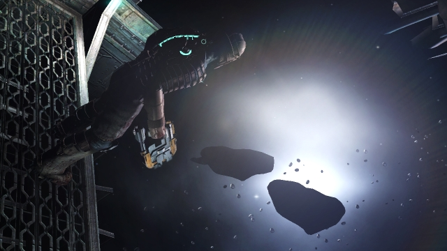 Dead Space<br><br>Die Jahre schritten voran, die Technik mit ihnen und so war es vor zwei Jahren Dead Space, das eklige Mutationen vor einer grandiosen Soundkulisse zum Leben erweckte. Spontanes Sesselrutschen war dabei vergleichsweise selten. Sobald Helmträger Isaac aber außerhalb des unheimlichen Raumschiffs schwebte, hörte er so gut wie nichts mehr - umso größer die Überraschung, wenn aus einer vermeintlich »sauberen« Ecke auf einmal ein Monster kroch, sobald man besagter Ecke den Hintern zugekehrt hatte... 2134603
