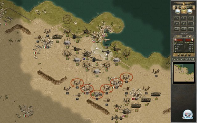 Screenshot - Panzer Corps: Afrika Korps (PC)