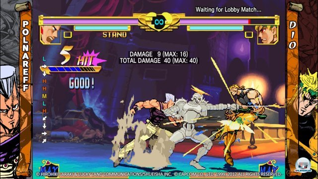 Screenshot - JoJo&#039;s Bizarre Adventure HD Ver. (PlayStation3)