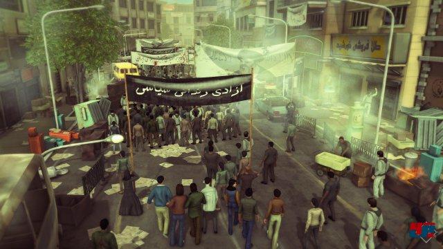 ... der in Rückblenden die Geschichte der Islamischen Revolution erzählt.