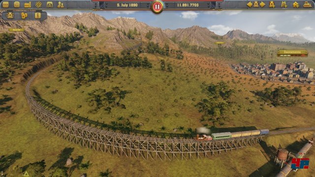 Screenshot - Railway Empire (Linux)