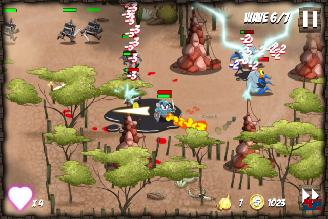 Screenshot - Onion Force (PC)
