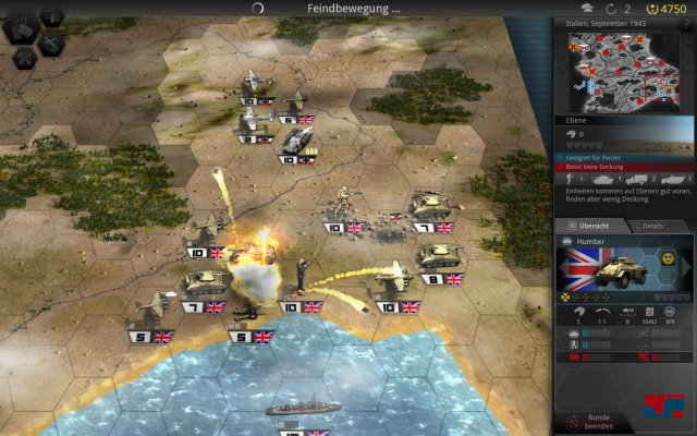 Screenshot - Panzer Tactics HD (iPad)
