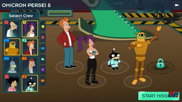 Screenshot - Futurama: Worlds of Tomorrow (Android)
