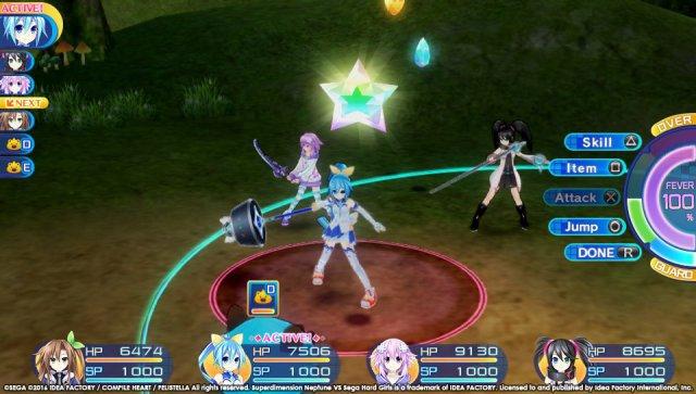 Screenshot - Superdimension Neptune VS Sega Hard Girls (PS_Vita)