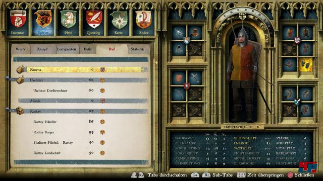 Aller Anfang ist schwer: Heinrich kann zu Beginn weder gut kämpfen noch reiten oder lesen.
