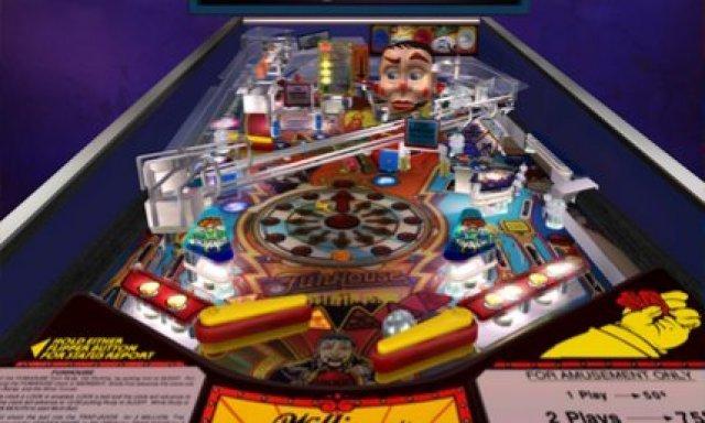 Ein hervorragender Tisch: Funhouse. Und trotzdem macht das Flippern auf 3DS kaum Spaß.