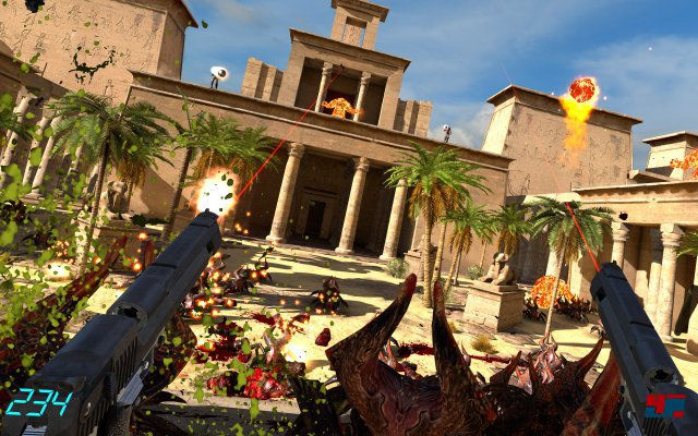 Screenshot - Serious Sam VR (VirtualReality)