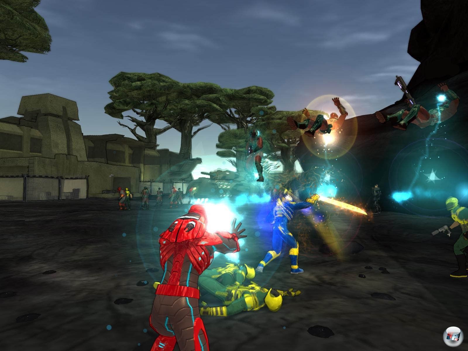 Champions Online - скриншот из игры.