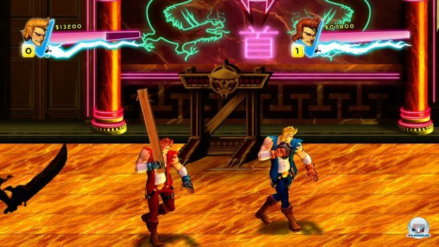 Screenshot - Double Dragon Neon (360) 92400292