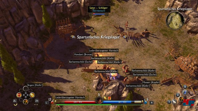Screenshot - Titan Quest (Switch) 92570905