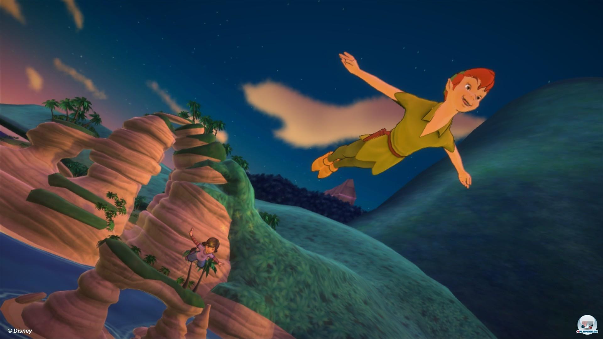 Mit Peter Pan durch Nimmerland fliegen ist nur eines der vielen Abenteuer, die in Disneyland versteckt sind.