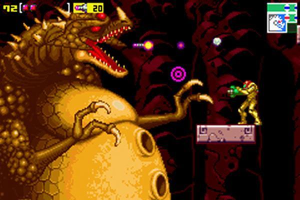 Metroid: Zero Mission<br><br>2004 erschien der bislang letzte klassische Metroid-Teil, aber es war kein neuer: Zero Mission, eine ähnliche Technik wie Fusion nutzend, war im Großen und Ganzen ein Remake des ersten Spiels - das Leveldesign wurde zu weiten Teilen übernommen, auch der Spielverlauf folgte den Spuren des Ahnen relativ genau. Nichtsdestotrotz gab es viele Neuerungen: Von der modernen Präsentation abgesehen kamen frische Waffen und Gegner zum Einsatz, Samus durfte schräg zielen. Außerdem wartete am Ende ein brandneuer, fragwürdiger Schleichlevel, der zwar kurz, aber umso nervender war. Aber er hatte den Vorteil, dass er erstmals ermöglichte, Samus ohne die Eingabe eines Cheatcodes ohne ihren Anzug zu spielen - das blaue Spandexteil gibt's demnächst wieder im Super Smash Bros. Brawl zu sehen. 1720805