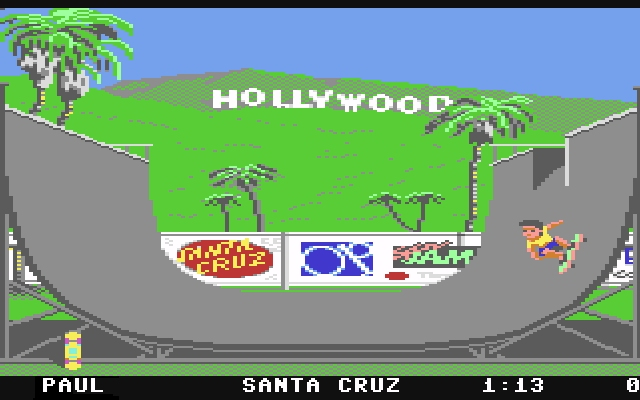 <b>California Games</b> (1987)<br> Entwickler: Epyx<br> Publisher: U.S. Gold 1748443