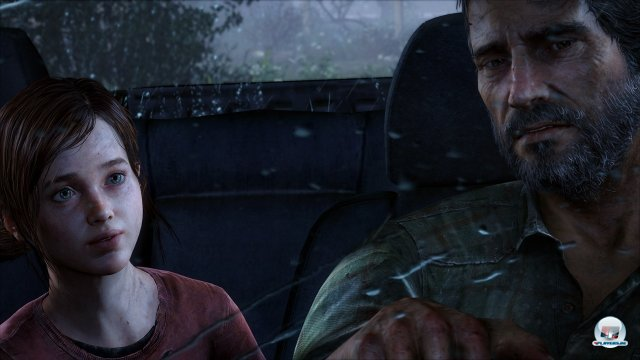 Ellie und Joel im Spiel...