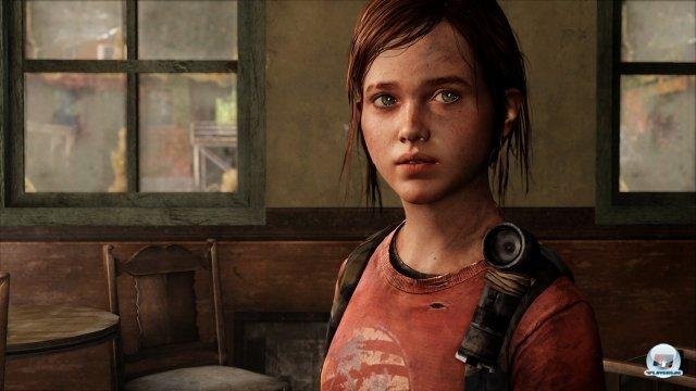 Das Verh�ltnis zwischen Joel und der 14-j�hrigen Ellie steht im Mittelpunkt der Story.