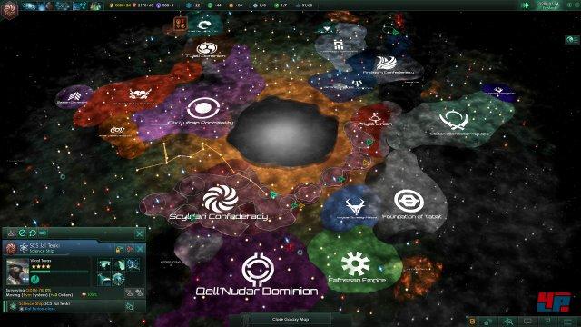Unendliche Weiten: Diplomatisches Geschacher spielt in Stellaris eine zentrale Rolle.