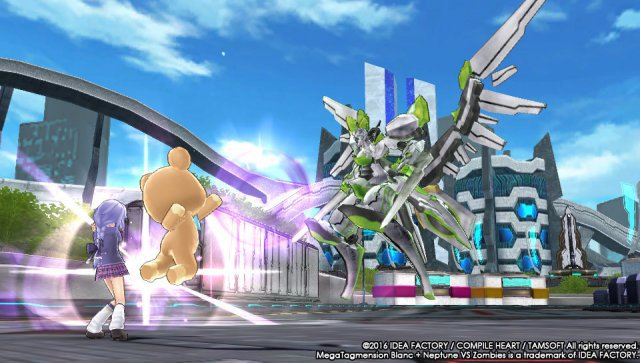 Screenshot - MegaTagmension Blanc   Neptune VS Zombies (PS_Vita)
