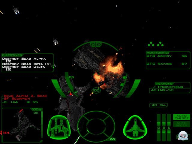 Screenshot - Conflict: FreeSpace - The Great War (PC)