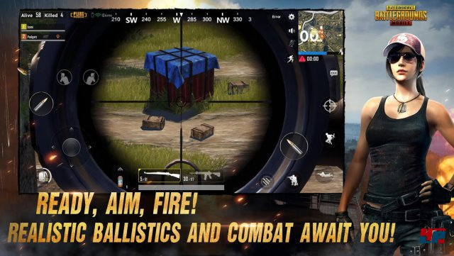 Screenshot - PlayerUnknown's Battlegrounds (Android)