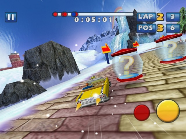 Screenshot - Sonic & Sega All-Stars Racing (iPhone) 2235167