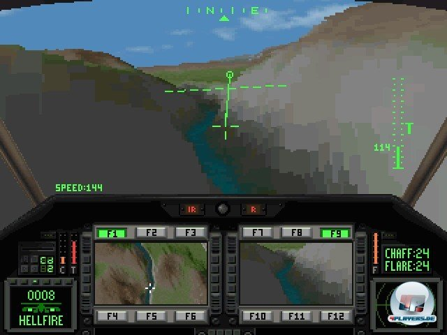 Screenshot - Comanche: Operation White Lightning (PC)