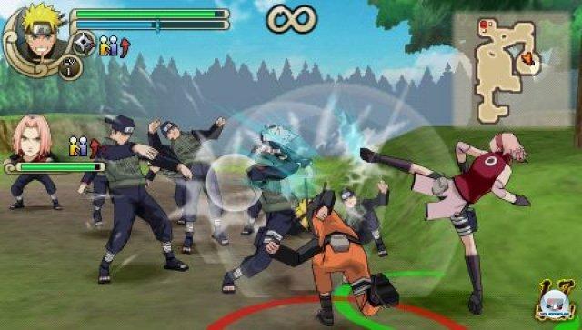 Screenshot - Naruto Shippuden: Ultimate Ninja Impact (PSP) 2260047