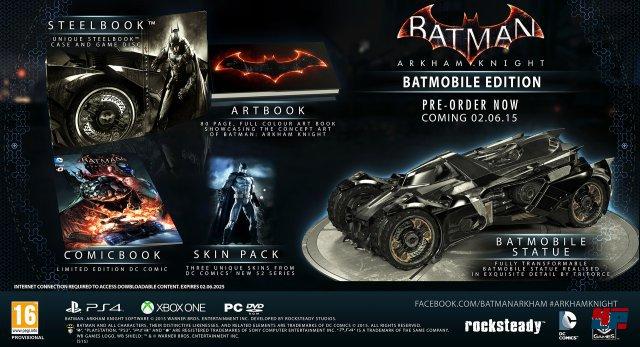 Batman: Arkham Knight Batmobil Edition