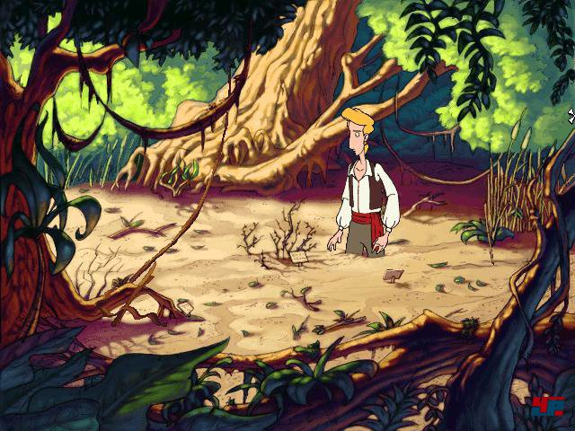Screenshot - The Curse of Monkey Island (PC)