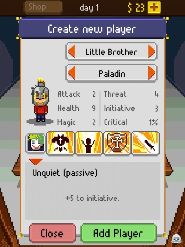 Screenshot - Knights of Pen & Paper (iPad) 92458326