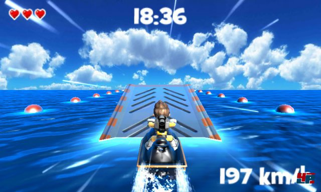 Screenshot - Jett Rocket II - The Wrath of Taikai (3DS)