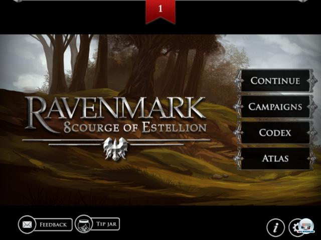 Ravenmark: scourge of estellion представляет собой пошаговую стратегию, в которой