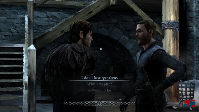 Screenshot - Game of Thrones - Episode 3: The Sword in the Darkness (iPad) 92502853