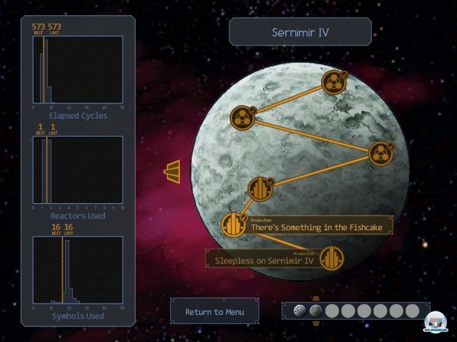 Screenshot - SpaceChem (iPad)