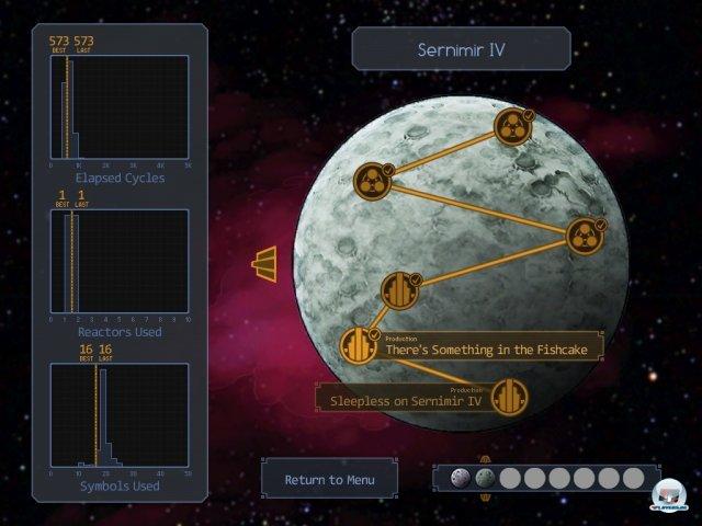 Screenshot - SpaceChem (iPad)
