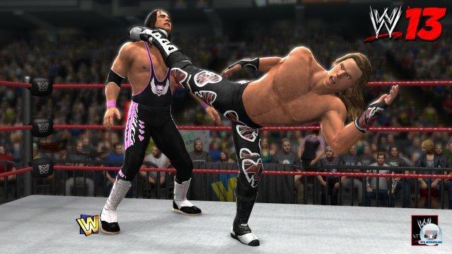 Bret Hart gegen Shawn Michaels beim Match in Montreal: Auch dieses Kapitel d�sterer WWE-Geschichte wird thematisiert.