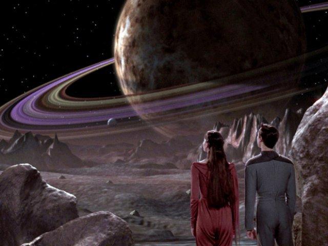 Fiktion: So stellten sich die Erschaffer von Star Trek: Das nächste Jahrhundert Virtual Reality vor.