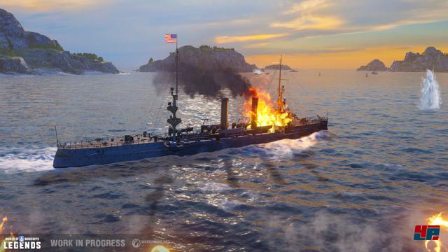Screenshot - World of Warships (PS4) 92572400