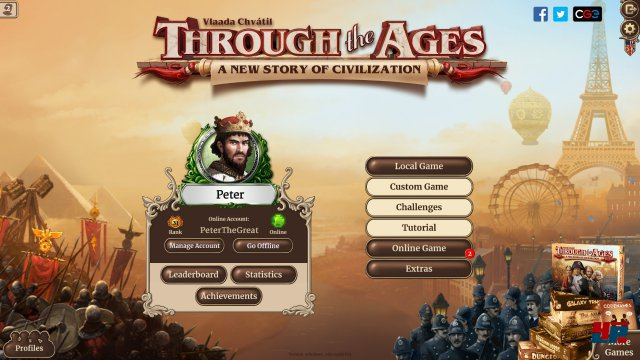Screenshot - Through the Ages (Android)