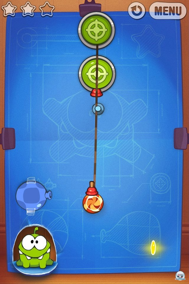 Screenshot - Cut the Rope: Experiments (iPhone) 2262047