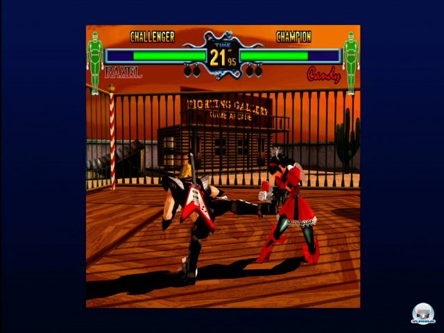 Screenshot - Fighting Vipers (360)