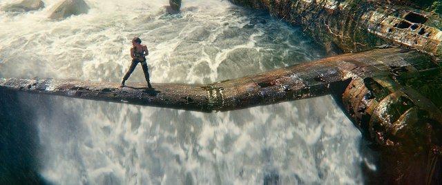 Die Szene beim Flugzeug-Wrack hätte auch direkt aus dem Spiel stammen können.