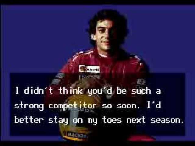 F1-Helden als Namenspaten <br><br> Nicht selten kam es vor, dass sich Spielehersteller einen erfolgreichen Fahrer schnappten und um ihn herum einen Racer rund um die Formel 1 bauten. So u.a. geschehen bei Nigel Mansell's Grand Prix (1987), Nigel Mansell's World Championship (1992), Ayrton Senna's Super Monaco GP 2 (1992), Michael Andretti's World GP (1990) Johnny Herbert's Grand Prix Championship (1998) oder Prost Grand Prix (1998). 2270282