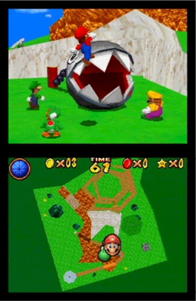 Screenshot - Super Mario 64 DS (NDS)