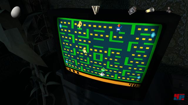 Nett: Findet man die entsprechenden Module, lassen sich Varianten von Arcade-Klassikern zocken.