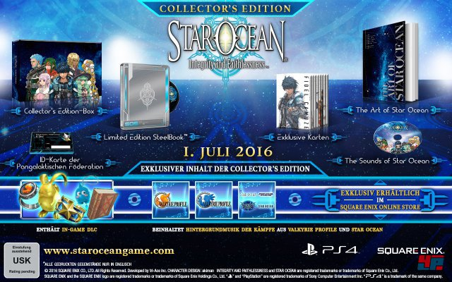 Star Ocean: Integrity and Faithlessness - Collector