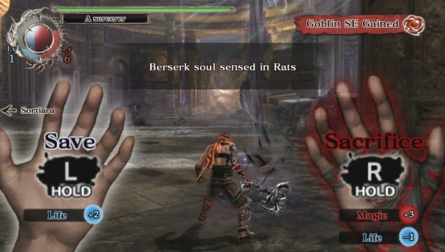 Screenshot - Soul Sacrifice (PS_Vita)