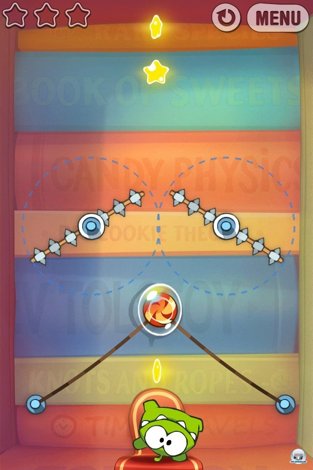Screenshot - Cut the Rope: Experiments (iPhone) 2262027