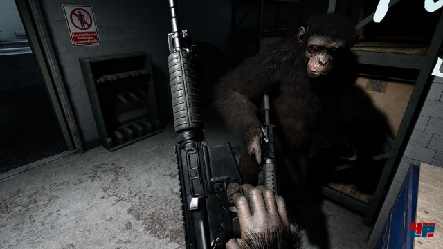 Screenshot - Crisis on the Planet of the Apes VR (HTCVive)
