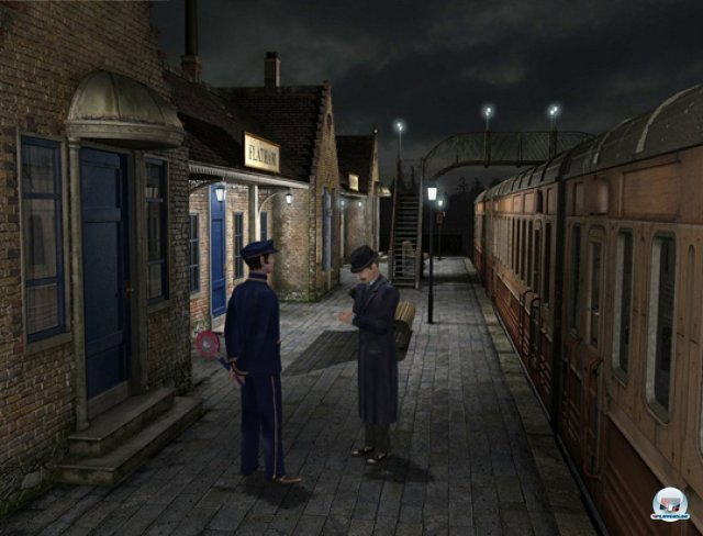 Screenshot - Sherlock Holmes: Das Geheimnis des silbernen Ohrrings (Wii)